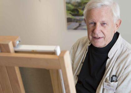 Gösta Berg, Konstnär