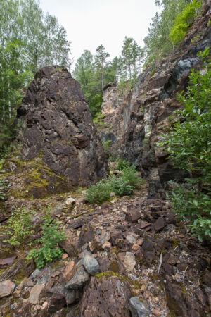 Klackbergs Gruvområde, Taptoplatsen, Norberg 20200609