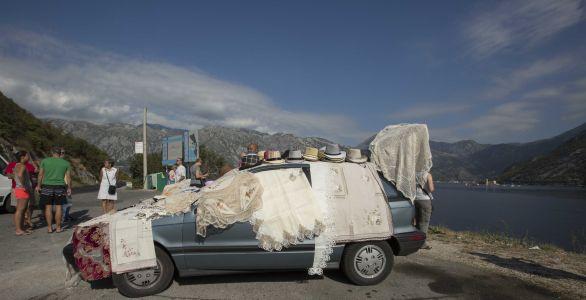 Montenegro Kotor Bay Försäljare 1